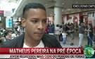 Matheus Pereira na pré-época do Sporting