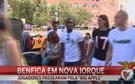 Benfica aproveita primeiros momentos de folga nos EUA