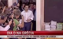 Alexis Tsipras votou às 08h30