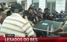 Dois feridos em protestos de lesados do BES que duraram cinco horas