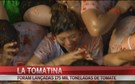 'La Tomatina' reuniu 22 mil pessoas em Buñol