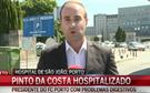 Pinto da Costa hospitalizado