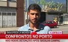 Confrontos no Porto