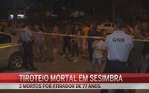 Três mortos em tiroteio na Quinta do Conde