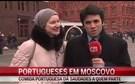 CMTV fala com portugueses em Moscovo antes de jogo com Sporting