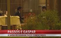 Passos Coelho e Vítor Gaspar jantam juntos