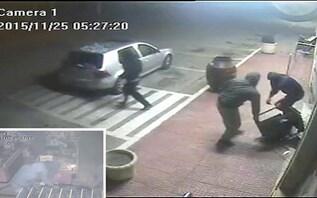 Exclusivo CM: Gang rouba supermercado à bomba