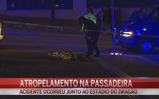Morre atropelada na passadeira junto ao Estádio do Dragão