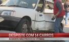 Condutor despista-se e danifica 13 carros no Algarve