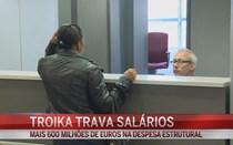 Troika trava reposição dos salários