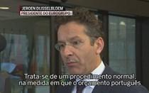 """Eurogrupo diz que Portugal pode ter de """"fazer mais"""""""