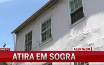 Mulher baleada pelo genro em Vila Real