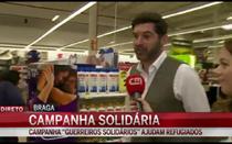 """Campanha """"Guerreiros solidários"""" ajuda refugiados"""