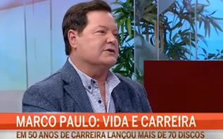 Marco Paulo emociona-se na CMTV