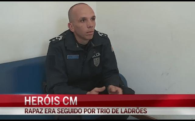 Gabriel Marques salvou jovem perseguido