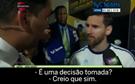 Messi deixa seleção
