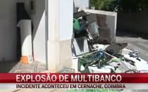 Explosão de multibanco em Coimbra