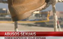 Homem suspeito de violar enteada