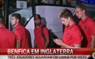 Benfica chegou a Inglaterra
