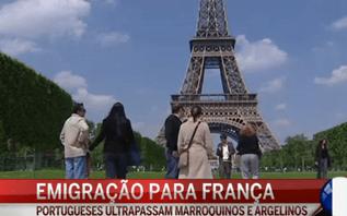 Portugueses voltam a liderar emigração para França