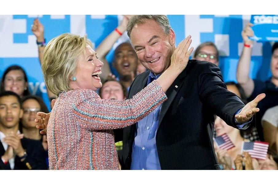 Escolha de vice pode causar problema para Hillary Clinton