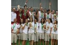 Portugal conquista ouro no basquetebol