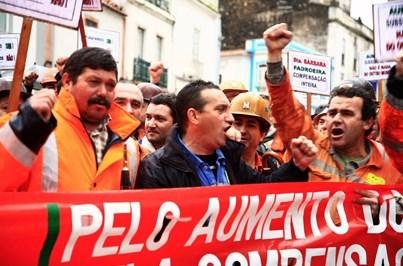 Trabalhadores da mina de Neves-Corvo avançam para nova greve