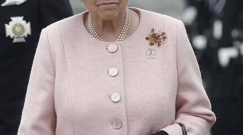 Rainha Isabel II no Facebook