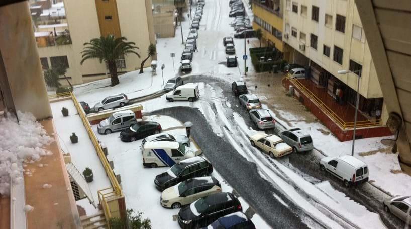 Temporal em Lisboa: Várias inundações (COM VÍDEOS)