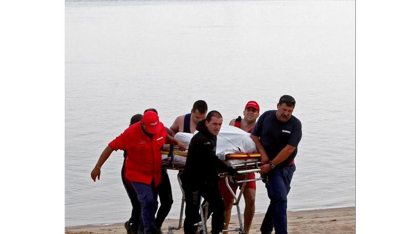 Afoga-se no rio Tejo para salvar a filha