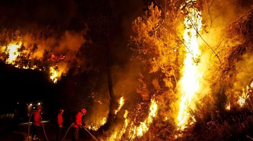 Estado de saúde de bombeiro de Castanheira de Pera inspira mais cuidados