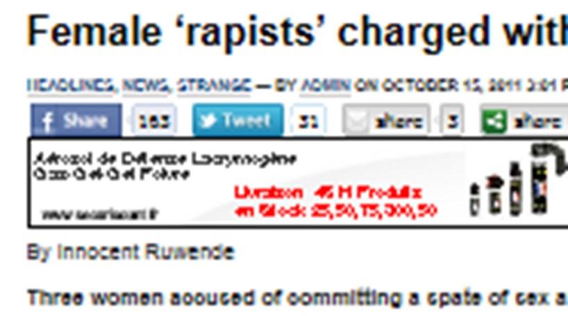 Zimbabwe: Irmãs violavam homens para roubar sémen