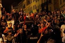 Sete anarcas presos em ataque à pedrada
