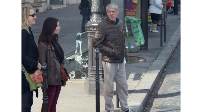 José Sócrates faz jogging em Paris