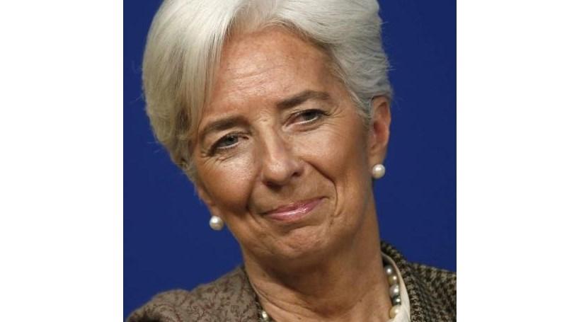 """Lagarde: Situação económica na Zona Euro continua """"frágil"""""""