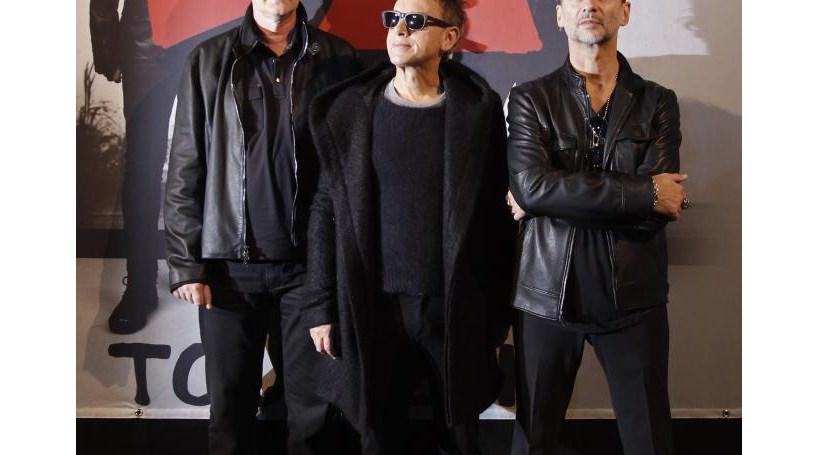 Depeche Mode antecipam novo disco no iTunes