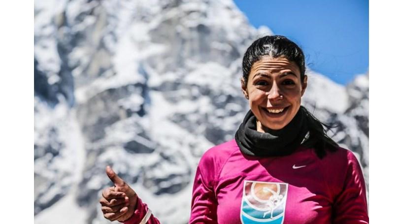 A primeira mulher portuguesa no topo do mundo