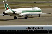 Companhia aérea Alitalia em risco de falência