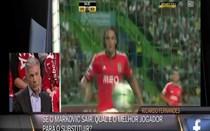 Veloso fala da possível saída de Markovic do Benfica