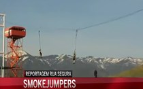 'Smokejumpers' combatem incêndios de grandes dimensões