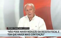 Santana Lopes diz que é preciso mais contenção na despesa