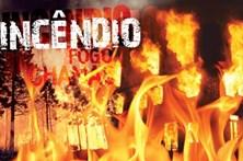 Incêndio em prédio de três andares em Sintra