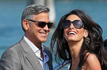 Clooney quebra silêncio sobre gravidez de Amal
