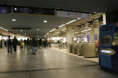 Circulação da Linha amarela do Metro de Lisboa retomada