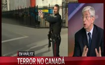 """Suspeito de ataque no Canadá """"é terrorista mesmo que isolado"""""""