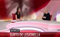 Presidente da Fundação do Pulmão analisa surto de Legionella
