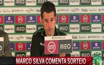 Marco Silva reage ao sorteio da Liga Europa