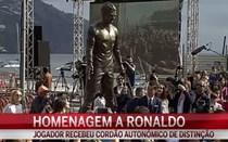 Madeira homenageia Ronaldo com estátua