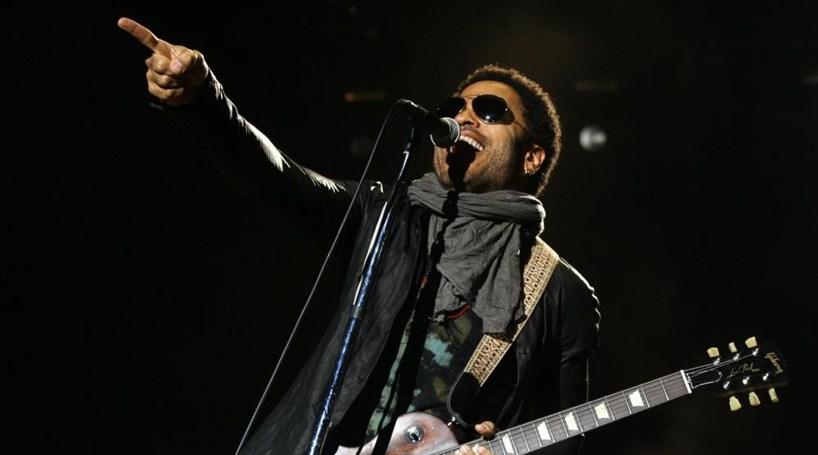 Lenny Kravitz dá concerto em Portugal em 2018