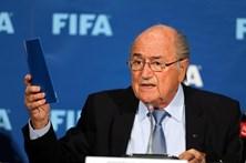 Joseph Blatter presente na I Gala Quinas de Ouro da FPF